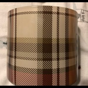 Pottery Barn Autumn Lodge 3-wick Candle Pot New